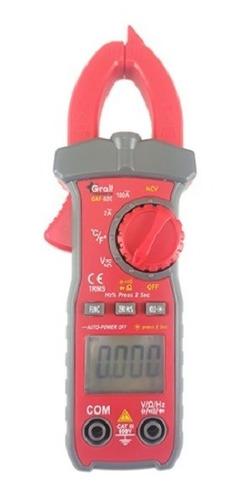 Pinza Amperometrica Gralf Premium Gaf-02c Trms Led 2-100a