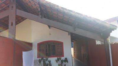 Linda Casa Com Piscina Em Mongaguá!!! 500 Mts Da Praia!!! - 1417