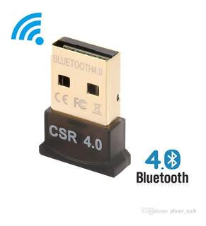 Adaptador Bluetooth Usb 4.0 Hasta 100 Mts