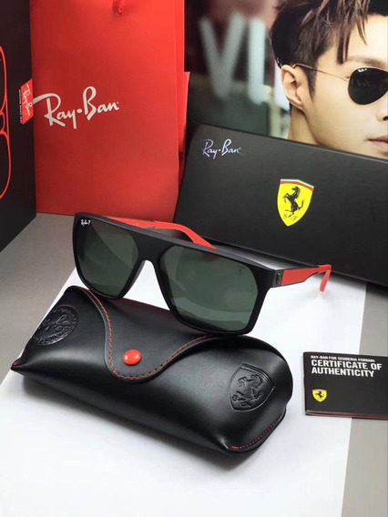Óculos De Sol Ray Ban Scuderia Ferrari Collection Masculino Rb4309