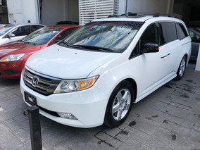 Honda Odyssey 3.5 Touring Minivan Cd Qc Dvd At 2012 Blanco