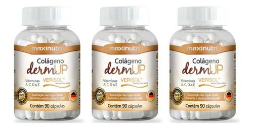 Imagem 1 de 1 de Maxinutri Colágeno +dermup Verisol C/90 (kit C/03)
