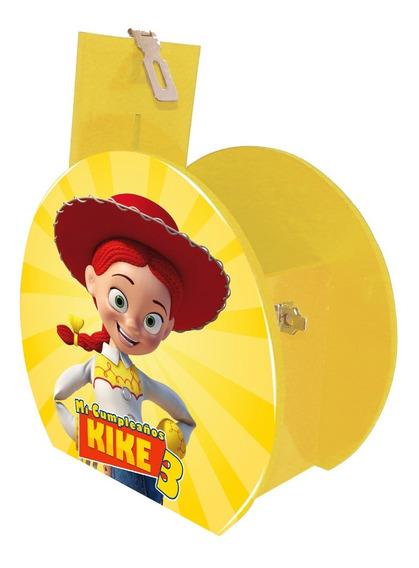 12 Alcancía Centro Mesa Dulcero Jessy Toy Story Personaliza
