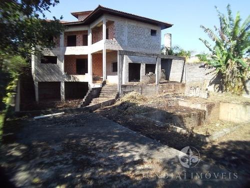 Vendo Chácara Condomínio Vale Esmeralda Em Jarinu, Casa De 750 M² Inacabada. - Ch00104 - 4787273
