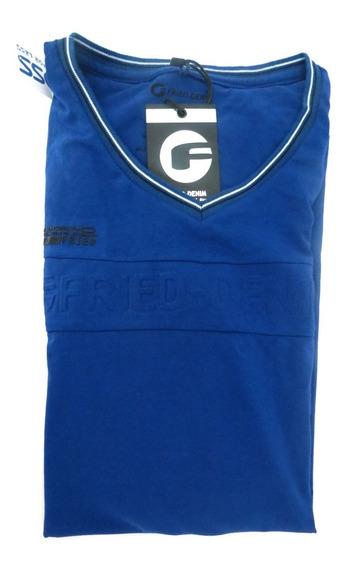 Camisa Fried Denim Original Azul Tamanho G