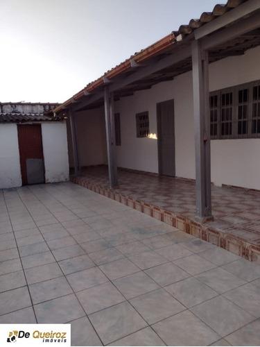 Imagem 1 de 10 de Casa  Em Mongaguá , Jussara, Lado Morro , Murado, Rua Calçada, 1 Dormitório , Banheiro, Sala, Cozinha , Garagem ,quintal. - 6291 - 69557726