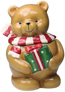 Cosmos 56544 Regalos Temporada Oso Ceramica Candy Box, 7 R 1