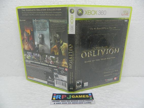 The Elder Scrolls 4 Oblivion Midia Fisica Completa Xbox 360