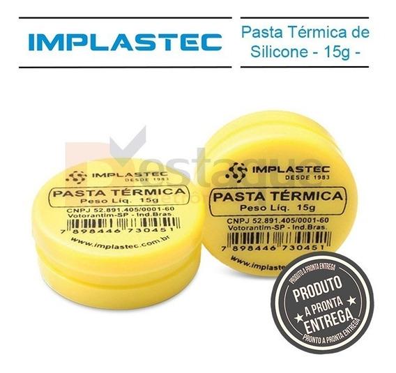 Pasta Termica 15g Pote Processador Cooler 775 1155 Amd