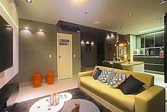 Apartamento Em Alphaville, Barueri/sp De 62m² 1 Quartos À Venda Por R$ 590.000,00 - Ap311436
