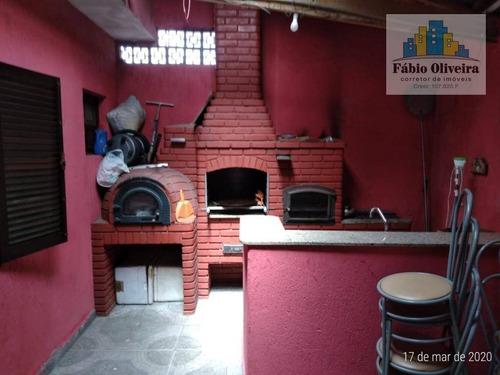 Casa Com 3 Dormitórios À Venda, 195 M² Por R$ 550.000 - Vila Junqueira - Santo André/sp - Ca0259