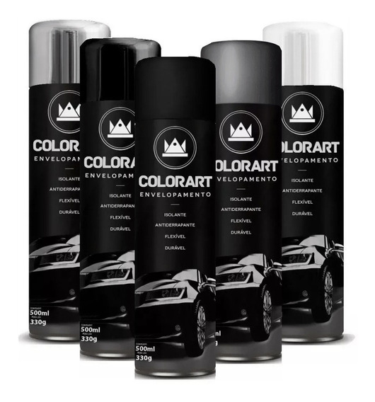 Spray Envelopamento Líquido Colorart 500ml