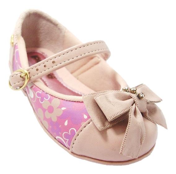 Sapato Infantil Guty Rosa 29123 Da Pé Com Pé - Dicastros