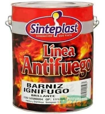 Barniz Ignifugo Antifuego C/ Certificado En Palermo