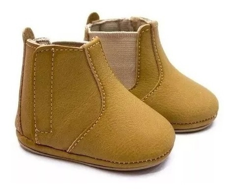 Sapato Bota Bebê Kids Masculino Baby Récem Nascido