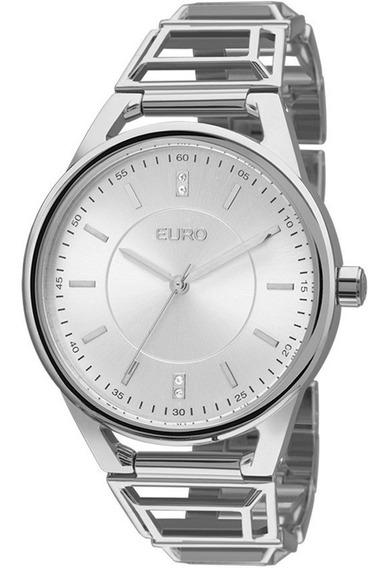 Relógio Feminino Euro Premium Tribal Eu2035yep/3k Prata