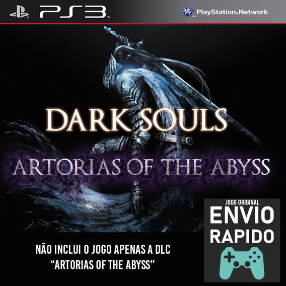 Dlc Artorias Of The Abyss Para Dark Souls 1 - Jogos Ps3