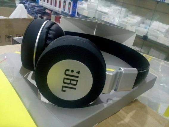 Fone Sem Fio Jbl Bluetooth P2 Msk3 Ms K3 Preto Dourado