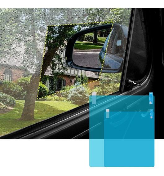 Adesivo Anti-embaçante E Reflexo P/ Retrovisor Carro E Moto