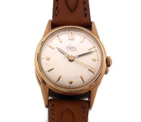 Relógio De Pulso Ebel 17 Rubis Em Ouro 18k J20011