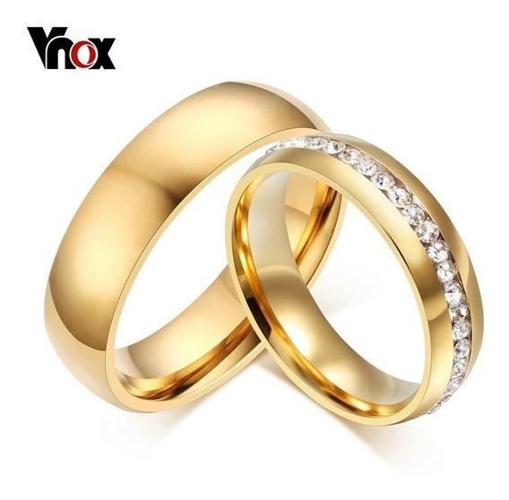 Aliança De Noivado E Casamento Ouro 18k