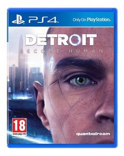 Detroit Become Human Juego Fisico Español Playstation 4