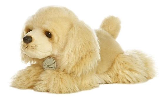 Cachorro Pelúcia Cocker Série Miyoni Aurora 20cm Frete Grati