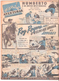 *ock*mundo De Aventuras Nº 172-novembro De 1952