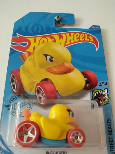 Carro Colección Hot Wheels Duck N Roll Nuevo Modelo