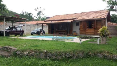 Imagem 1 de 19 de Chácara Com 3 Dormitórios À Venda, 3000 M² Por R$ 550.000,00 - Centro - Santa Branca/sp - Ch0151