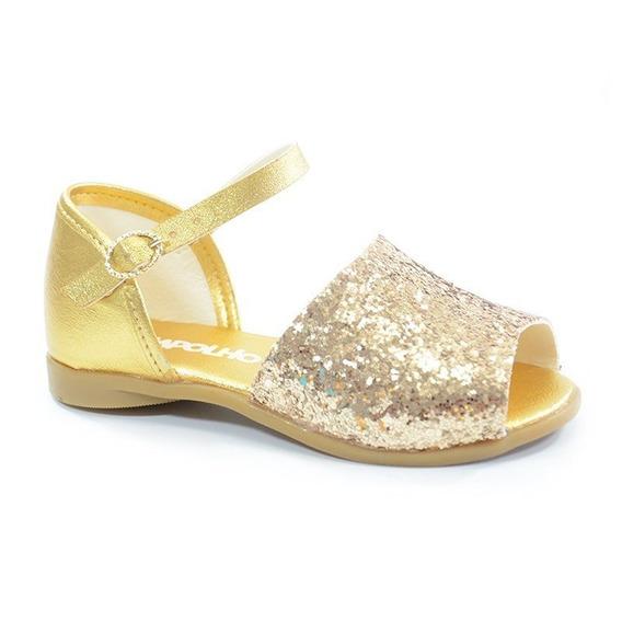 Sandália Pimpolho Dourado - 0032233c