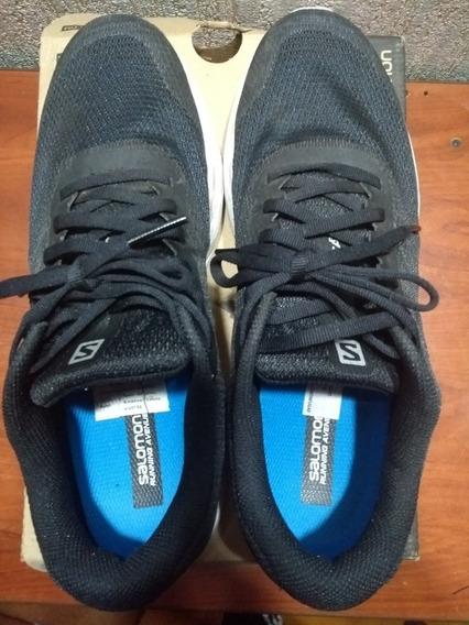 Zapatillas Salomón Negras Número 42!!!