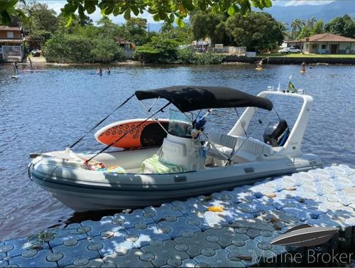 Flexboat Sr620 L Bote Inflável Mercury Ano 2004 Refit 2018