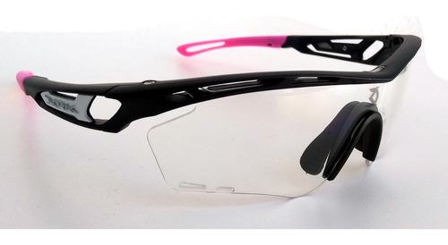 Óculos Ciclismo Dvorak One Rosa 3 Lentes Padrão Rudy | Mercado Livre