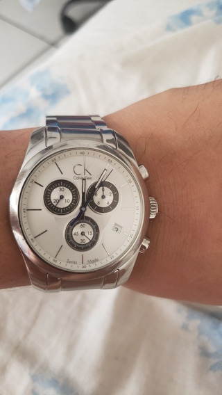 Relógio Ck Original, Calvin Klein City Chronograph Wat