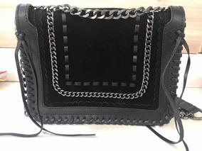 Bolsa Zara Em Couro