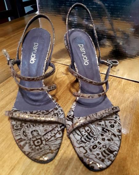 Sandalias Zapatos Paruolo Fiesta Sin Uso. Ofertazo