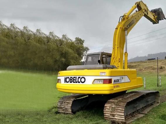 Retroexcavadora Kobelco Sk 200 Lc