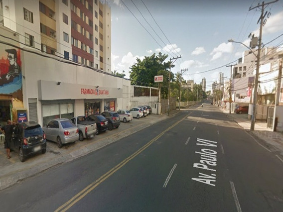 Loja Frente Rua Com 20,00m2 Mais Mezanino 12,00m2 Na Av. Paulo Vi - Sfl074 - 33770058