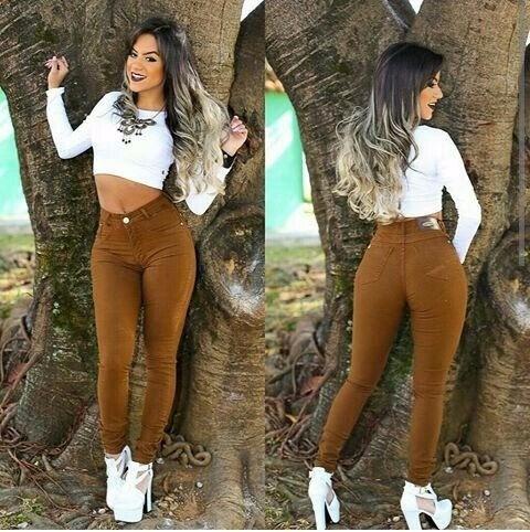 Kit 10 Calças Jeans Feminina Cintura Alta Hot Pants Atacado