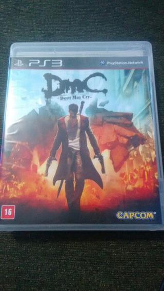 Dmc Devil May Cry Semi Novo Ps3 Original