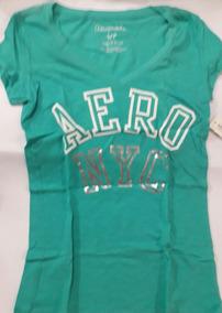 Aeropostale Camiseta Feminina V- Neck P- Original