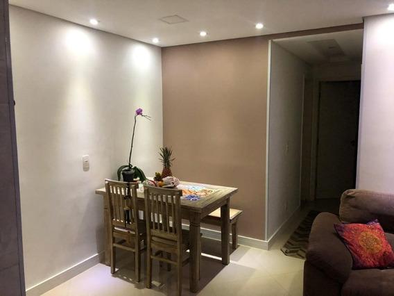 Apartamento No Cond Club Jardim Em Frente Shopp Taboao Fl12