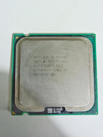 Processador Intel Core 2 Duo E7500 2.93 Ghz + Cooler Intel