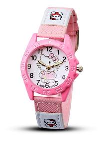 Relógio Infantil Pulso Quartzo Timarco Hello Kitty
