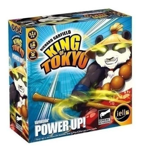 Imagen 1 de 5 de Juego De Mesa - King Of Tokyo Power Up - 6 Cuotas