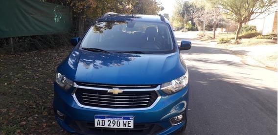 Chevrolet Spin Ltz 2019. Como Nueva