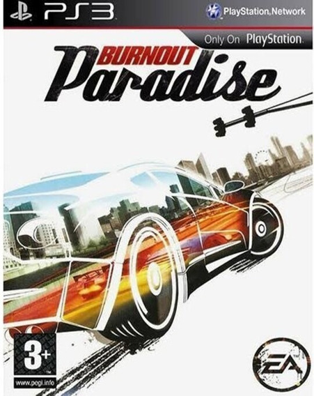 Burnout Paradise (ps3) Playstation 3 Jogo Comprar