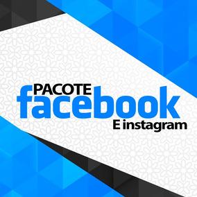 Facebook E Instagram - Pacote Profissional 6 Artes Promoção