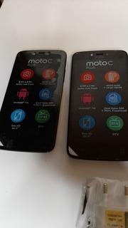 Moto C Plus 16gb Novo Aparelho Fonte Fone Usb +dtv Nota Fisc